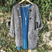 Trapezio Vintage con cappotto