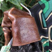 inserto in pelle borsa